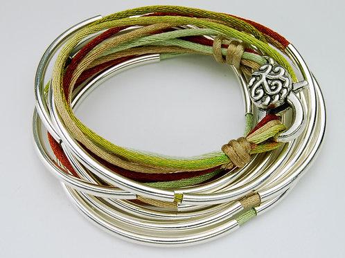 Colors of Nature, Wrap Bracelet