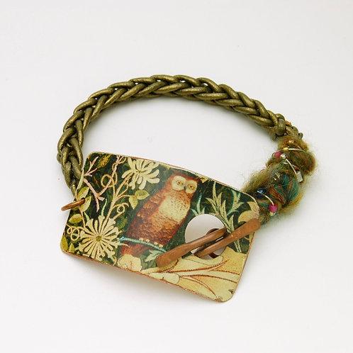 Morris Owl Bracelet