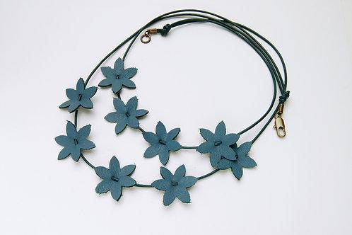 Blue Cornflower Necklace
