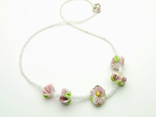 Spring Budding Necklace