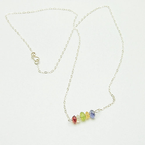 Kaleidoscope Gemstone Necklace
