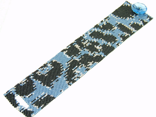 Leopard Beaded Bracelet