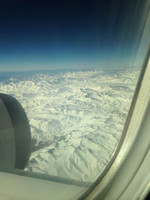 Andes aeroplane Chile