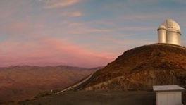 La Silla astronomy ESO telescope sunset