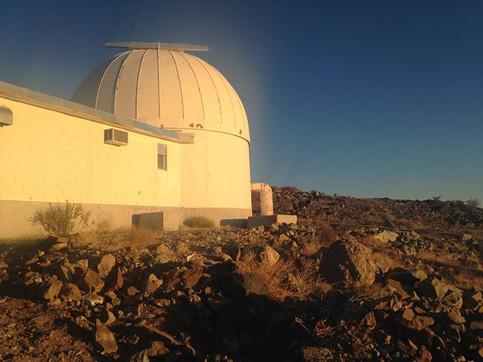 telescope Emily Rickman astronomy La Silla Chile