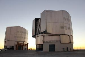 VLT Paranal sunset astronomy