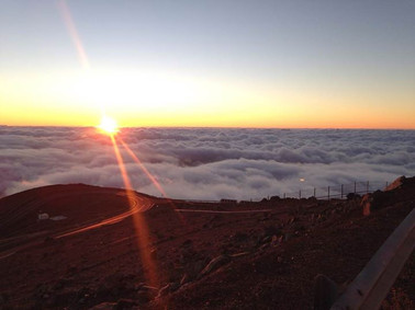 Astronomy Emily Rickman sunset paranal