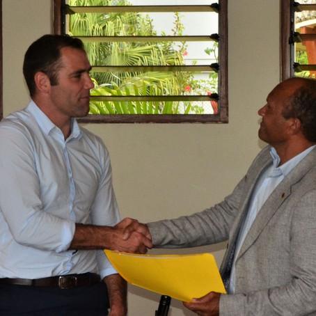 Cameron Smith AM Appointed Vanuatu Sports Ambassador