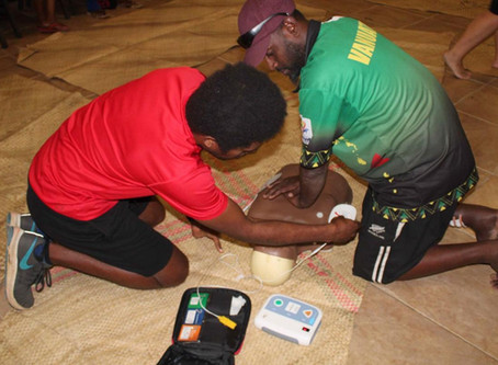 VASANOC host first First Aid and Nutrition course for coaches