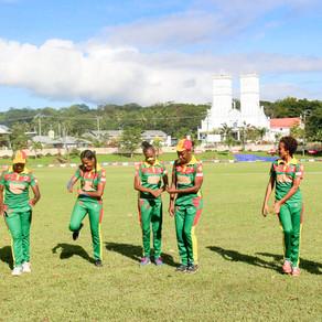 Dancing Vanuatu women's cricketers win medal thanks to crowdfunding