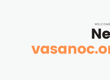 VASANOC Launch New Website