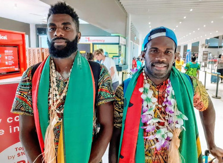 Vanuatu rowers return home after creating history in Hong Kong