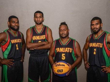 Vanuatu's 3x3 ranking set as 75th nation in the world for 2020 season