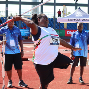 Silver surprise for Vanuatu para javelin debutant
