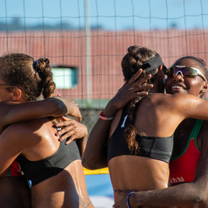 Vanuatu's Pata bows out on a high with beach volleyball gold