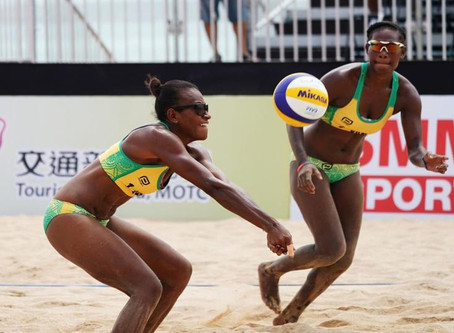 Vanuatu beach Volleyball team prepares for China