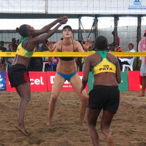 Vanuatu beat undefeated Australia to reach women's beach volleyball semis