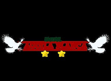 HOTEL AGUILA BLANCA Letras Rojas LOGO (1