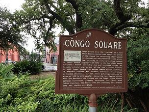 Congo square, 1817