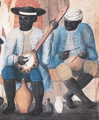 Il banjo è uno strumento musicale originario dell'Africa.