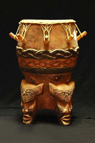 Tamburo sacro africano per  rituali