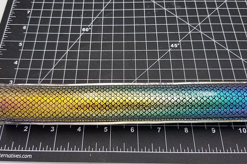 Dichroic Tubing rainbow fade scales  25