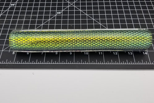 Dichroic Tubing Green Scales F17