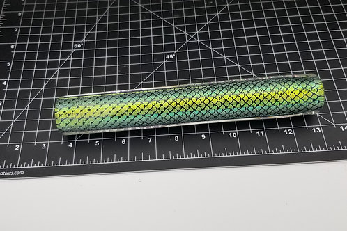 Dichroic Tubing Green Scales F19
