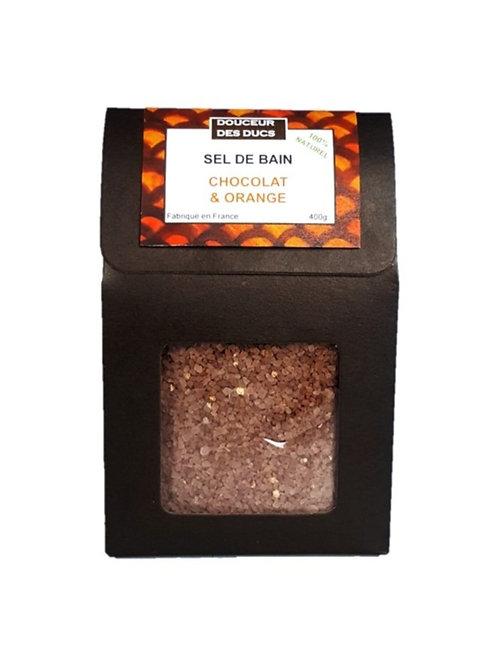 Sel de bain Chocolat & Orange