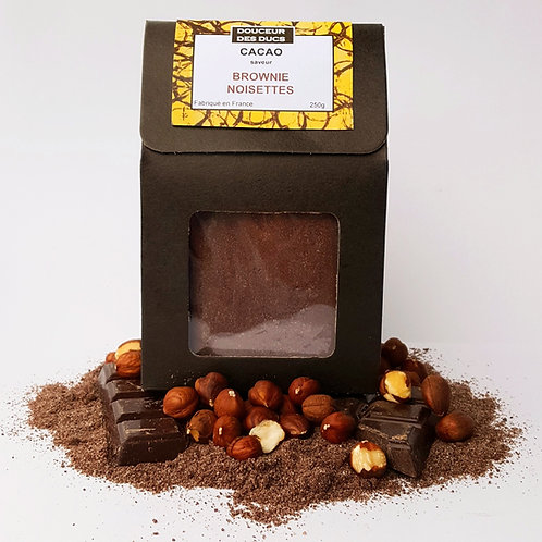 Cacao façon Brownie Noisettes