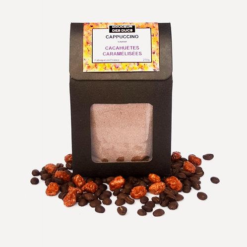 Cappuccino Chocolat Cacahuètes Caramélisées