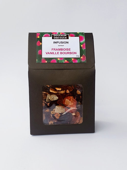 Infusion saveur Framboise Vanille
