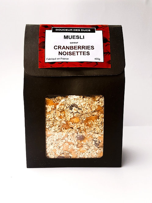 Muesli Cranberries & Noisettes