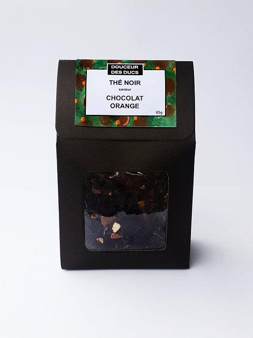 Thé noir saveur Chocolat Orange