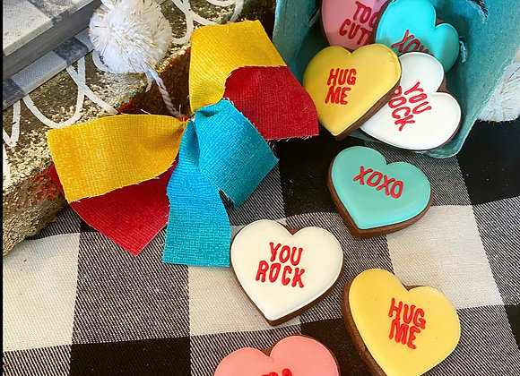 Mini Conversation Hearts