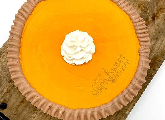 """""""Faux"""" Pumpkin Pie"""