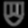 Black n white badge
