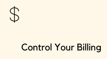 Control Your Billing