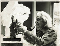 Reuben Nakian sculptuing in clay.jpg