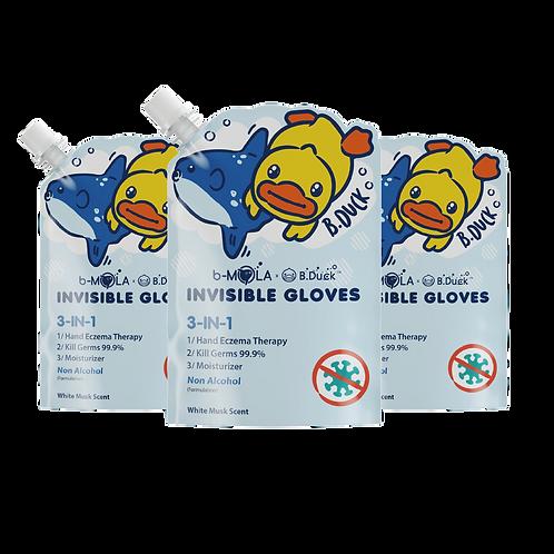 B.Duck NCCO-IG 250ml 皮膚抗敏修護液 (白麝香) - 3支裝