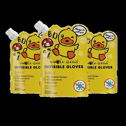 B.Duck NCCO-IG 250ml 皮膚抗敏修護液 (橘香) - 3支裝