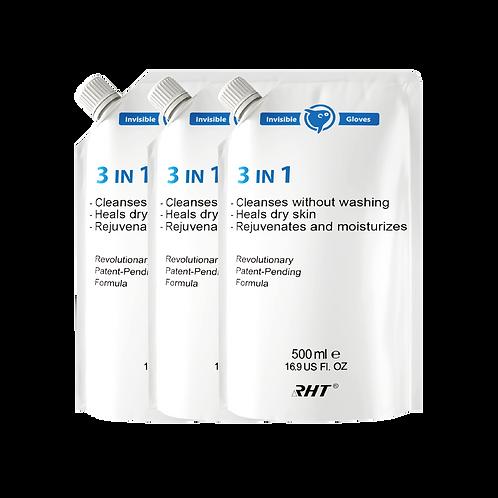 NCCO-IG 500ml 皮膚抗敏修護液 - 補充3支裝