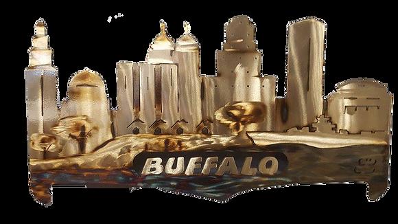 Buffalo Cityscape Wall Hanging