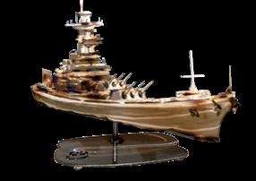 USS Arizona Replica