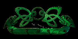 Celtic Dog Five Hook Key Rack