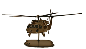 Blackhawk Helicopter Replica
