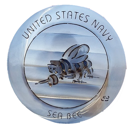 """15"""" United States Navy Seabee Coin"""