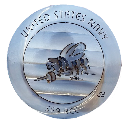 "15"" United States Navy Seabee Coin"