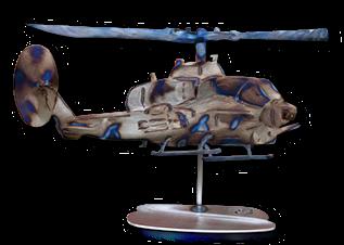 AH-1W Cobra Helicopter Replica