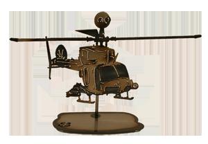 OH-58D Kiowa Helicopter Replica
